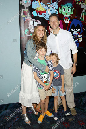 """Editorial photo of Warner Bros. Animation and Will Arnett Hosts the Hamptons Sneak Screening of """"Teen Titans Go! To the Movies"""", USA - 07 Jul 2018"""