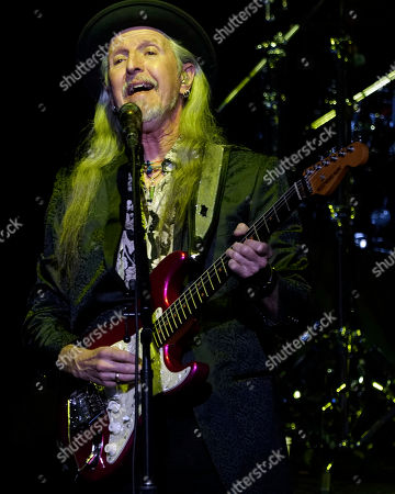 The American iconic rock band, The Doobie Brothers with original member guitarist Patrick Simmons performs at the Xfinity Center, in Mansfield, Mass