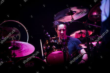 Stock Picture of Hollywood Vampires - Glen Sobel