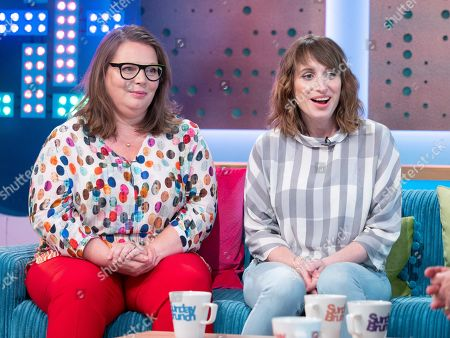 Stock Picture of Joanna Scanlon and Isy Suttie