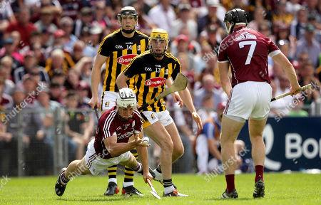 Galway vs Kilkenny. Galway's Daiti Burke and Billy Ryan of Kilkennny