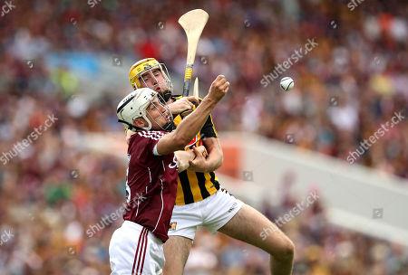 Galway vs Kilkenny. Galway's Daiti Burke and Billy Ryan of Kilkenny
