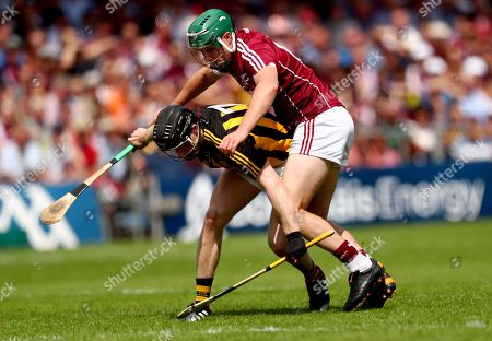 Galway vs Kilkenny. Kilkenny's Enda Morrissey and Cathal Mannion of Galway