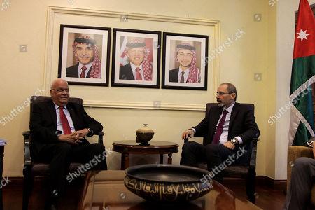 Editorial photo of Chief Palestinian negotiator Saeb Erekat in Amman, Jordan - 08 Jul 2018
