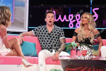 Caroline Flack, Danny Jones and Ferne McCann