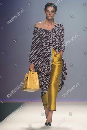 Marina Perez on the catwalk