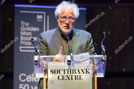 Editorial picture of The Golden Man Booker prize, London, UK - 08 Jul 2018