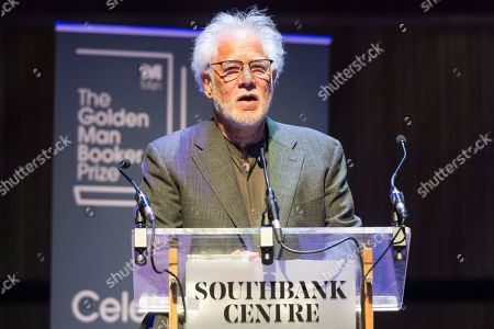 Stock Image of Author Michael Ondaatje wins The Golden Man Booker prize