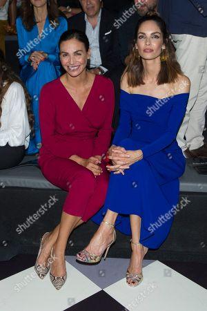 Stock Photo of Ines Sastre and Eugenia Silva