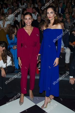 Editorial image of Pedro del Hierro show, Front Row, Mercedes-Benz Fashion Week, Madrid, Spain - 07 Jul 2018