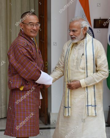 Editorial picture of Bhutanese Prime Minister Dasho Tshering Tobgay visits India, New Delhi - 06 Jul 2018