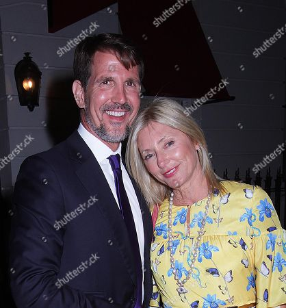 Stock Photo of Crown Prince Pavlos and Marie-Chantal