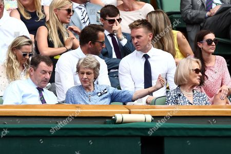 Ben Ainslie and Jason Roy in the Royal Box