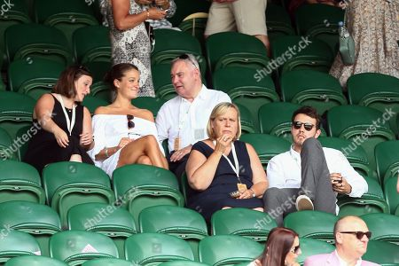 Eamonn Holmes and Alfie Deyes on Centre Court