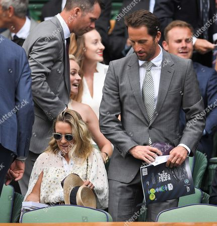 Editorial picture of Wimbledon Tennis Championships, Day 7, The All England Lawn Tennis and Croquet Club, London, UK - 09 Jul 2018
