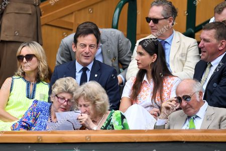 Editorial photo of Wimbledon Tennis Championships, Day 7, The All England Lawn Tennis and Croquet Club, London, UK - 09 Jul 2018
