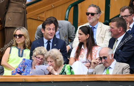 Stock Photo of Jason Isaacs, Emma Hewitt, Matthew Pinsent and Demetra Pinsent in the Royal Box