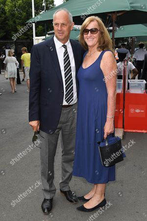 Stock Picture of Steve Redgrave and Ann Redgrave