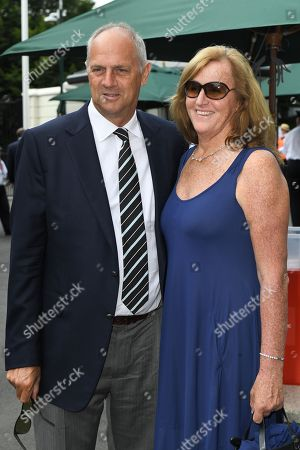Stock Photo of Steve Redgrave and Ann Redgrave