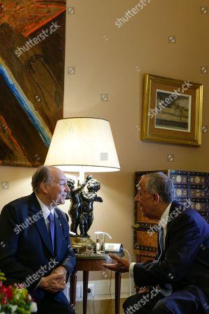 Prince Karim Aga Khan and Marcelo Rebelo de Sousa