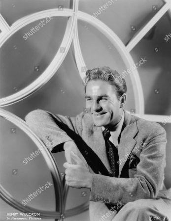 Actor Henry Wilcoxon, Publicity Portrait, Paramount Pictures, 1930's