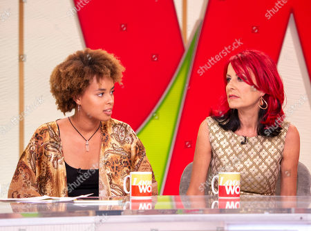 Editorial picture of 'Loose Women' TV show, London, UK - 09 Jul 2018