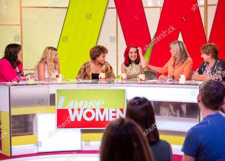 Coleen Nolan, Stacey Solomon, Talia Grant, Carrie Grant, Claire King and Anne Diamond