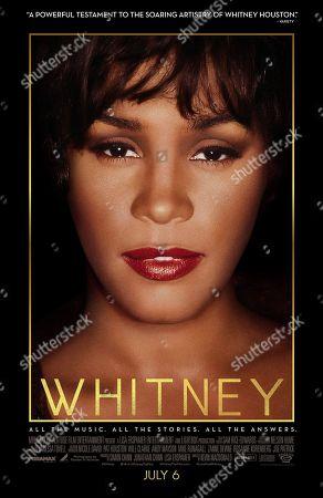 Whitney (2018) Poster Art. Whitney Houston
