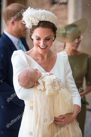 The Christening of Prince Louis, London