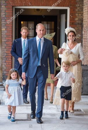 Editorial photo of The Christening of Prince Louis, London, UK - 09 Jul 2018