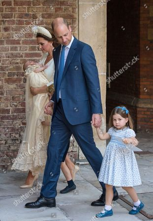 Editorial picture of The Christening of Prince Louis, London, UK - 09 Jul 2018
