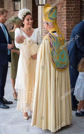 Editorial image of The Christening of Prince Louis, London, UK - 09 Jul 2018
