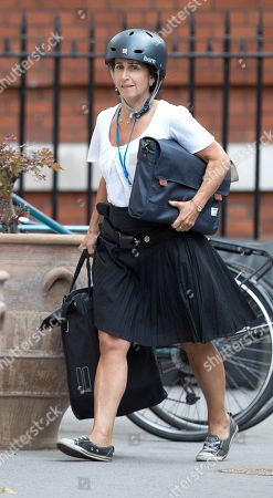 Marina Wheeler, wife of Boris Johnson, arrives at the official residence of the foreign secretary after Boris Johnson resigned.