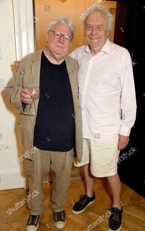 Stock Image of Alan Parker and Frank Lowe