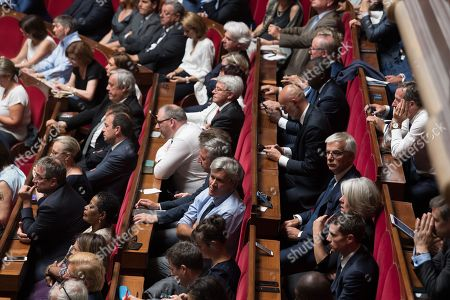 Stephane Le Foll.   During a special congress gathering both houses of parliament (National Assembly and Senate) in the palace of Versailles