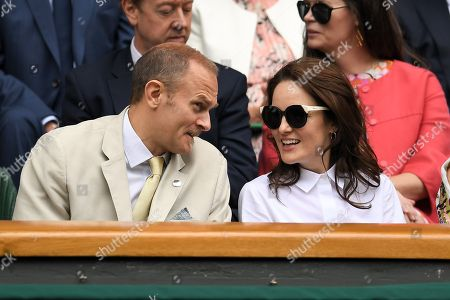 Carlo Nero and Michelle Dockery in the Royal Box