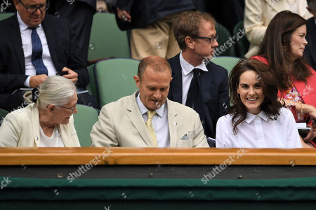Vanessa Redgrave, Carlo Nero and Michelle Dockery in the Royal Box