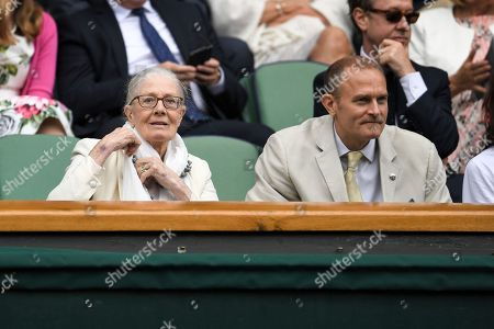 Stock Image of Vanessa Redgrave and Carlo Nero in the Royal Box