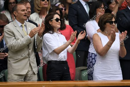 Editorial photo of Wimbledon Tennis Championships, Day 8, The All England Lawn Tennis and Croquet Club, London, UK - 10 Jul 2018