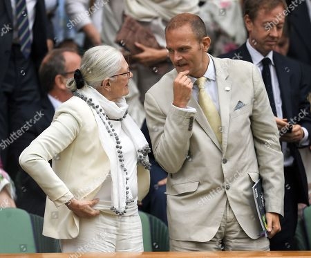 Stock Picture of Vanessa Redgrave and Carlo Nero in the Royal Box