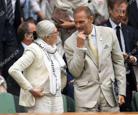 Vanessa Redgrave and Carlo Nero in the Royal Box