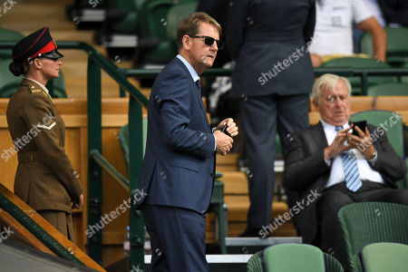 Paul Henderson in the Royal Box