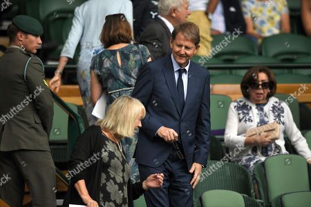 Stock Photo of Paul Henderson in the Royal Box