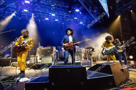 Arcade Fire - Richard Reed Parry, Win Butler, Regine Chassagne and Tim Kingsbury