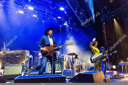 Arcade Fire - Win Butler, Regine Chassagne and Tim Kingsbury