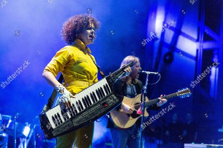 Arcade Fire - Regine Chassagne and Tim Kingsbury