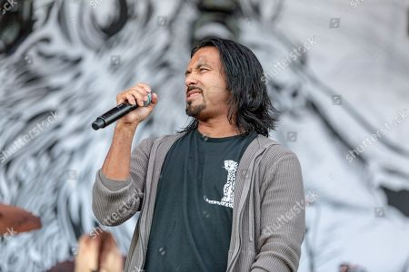 Stock Picture of Pop Evil - Leigh Kakaty