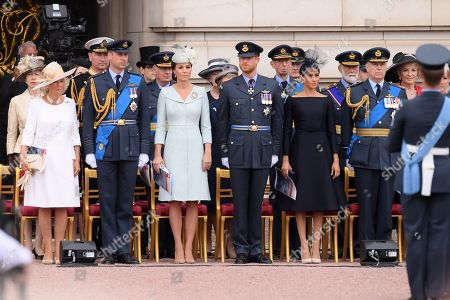 Editorial picture of 100th Anniversary of the Royal Air Force, London, UK - 10 Jul 2018