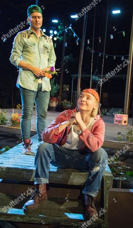 Edward Hogg as Orlando, Olivia Vinall as Rosalind