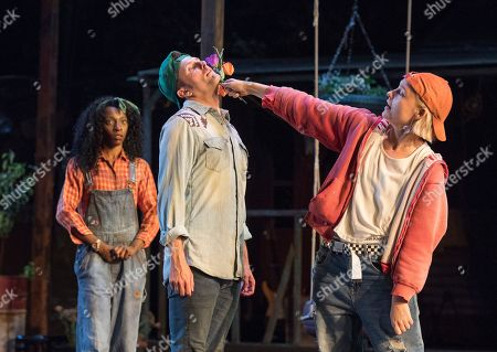Editorial image of 'As You Like It' Play performed at the Open Air Theatre, Regent's Park, London, UK, 10 Jul 2018